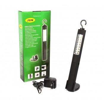 Ліхтарик портативний JBM з акумулятором (16LED/60Lm) (52147)