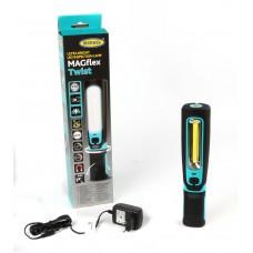 Ліхтар-лампа Ring (гнучка підстава/гумова рукоятка/гак/магніт/акумулятор) (REIL3600HP)