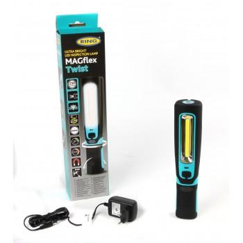 Фонарик-лампа Ring (гибкое основание/резиновая рукоятка/крюк/магнит/акумулятор) (REIL3600HP)
