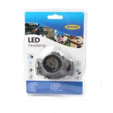 Ліхтарик портативний головний Ring (3 режими: макс. світловіддача / економія енергії / миготіння) (RT5174)