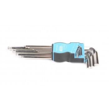 Набор ключей шестигранных HAZET c шаровой головкой 9 шт (2105LG/9H)