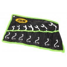 Набір ключів S-образних гучних JBM 7 шт (50563)