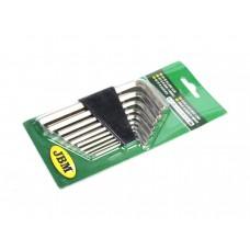 Набір ключів шестигранних JBM 10 шт (50571)