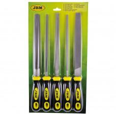 Набор напильников JBM 5 шт (51853)