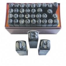 Набір штампів сталевих (числових і буквених) JBM (36 шт) (3 / 16-5.0m) (52422)