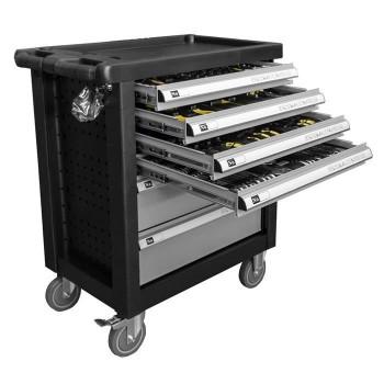 Візок з інструментами на колесах JBM 171 предметів (460x765x900) (сіра) (53333)