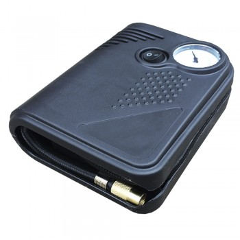 Компрессор автомобильный JBM 12V/100W/10 BAR (аналоговый манометр) (53150)