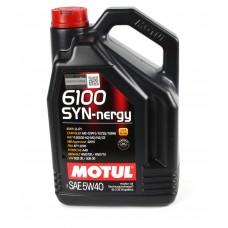 Моторне масло Motul 5W40 Syn-nergy 6100 (5L) (107979)