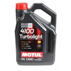 Моторне масло Motul 10W40 Turbolight 4100 (4L) (100355)