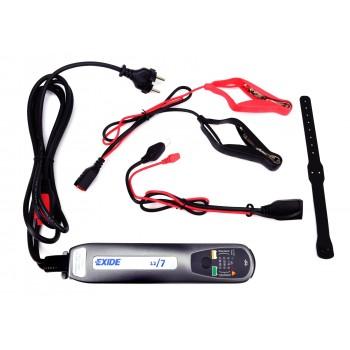 Зарядний пристрій 7A/12В для акумуляторов до 100A/h EXIDE (EX-12/7)