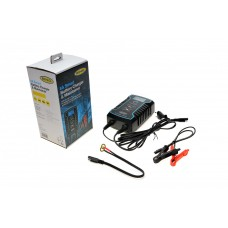 Зарядний пристрій з функцією інтелектуальної зарядки 12В/24В, 8А для акумуляторів Ring (RESC808)